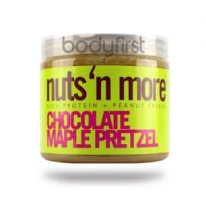 Nuts 'N More – Chocolate Maple Pretzel High Protein Spread (454g)