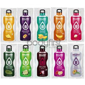 Bolero – Essential Hydration Sugar Free Flavoured Sachet Drink Mixed Box (12 x 9g)