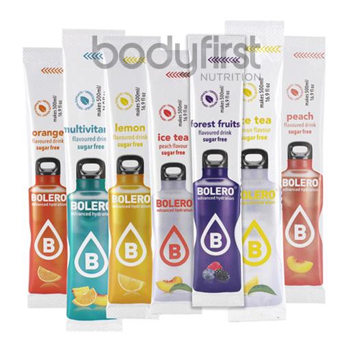 Bolero advanced hydration sugar free flavoured sticks for Cocktail 3g