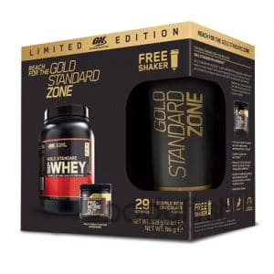 Optimum Nutrition – Gold Standard Zone PRE POST Pack with FREE Shaker