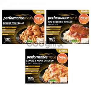 Performance Meals – Sports Fuel BBQ Chicken Breast & Brown Rice (380g)