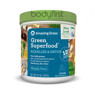 Amazing Grass – Green Superfood Alkalize & Detox Simply Pure (30 Servings)
