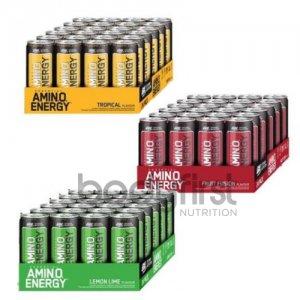 Optimum Nutrition – Amino Energy RTD Case (24 x 330ml)  **17% OFF
