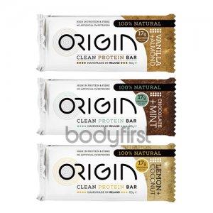 Origin – Clean Handmade Protein Bar Mix of 6 (6 x 60g)