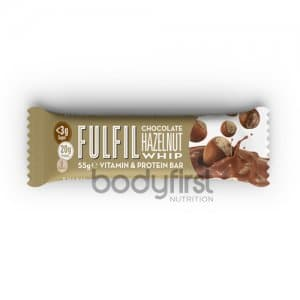 Fulfil Nutrition – FULFIL Protein Bars with Vitamins Chocolate Hazelnut Whip (55g) **NEW