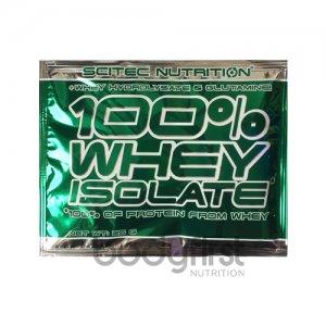 Scitec Nutrition – 100% Whey Isolate Single Serve Sachet (25g)