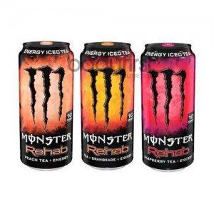 Monster Energy – Monster Rehab Tea & Energy (473ml) **U.S IMPORT