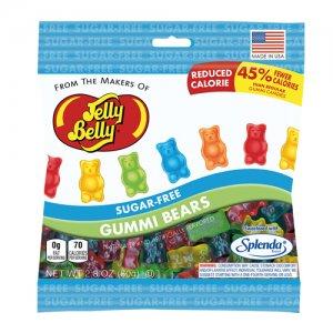 Jelly Belly – Sugar Free Gummi Bears (80g)