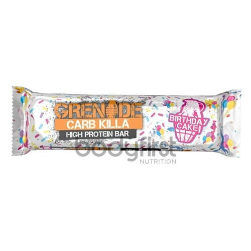 Grenade Carb Killa Protein Bar Birthday Cake 60g 20 OFF