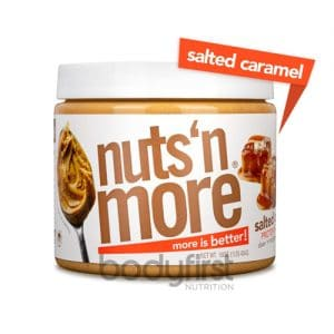 Nuts 'N More – Salted Caramel High Protein Spread (454g)