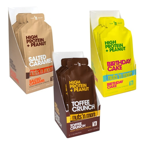 Nuts N More Single Serve High Protein Spread Sachet 33g