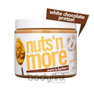 Nuts 'N More – White Chocolate Pretzel High Protein Spread (454g)