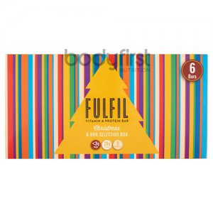 Fulfil Nutrition – Fulfil Protein Bar Christmas Selection Box Customised (SIX BARS)