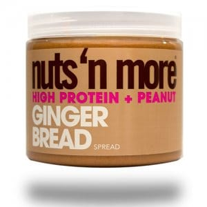Nuts 'N More – Gingerbread High Protein Spread (454g)