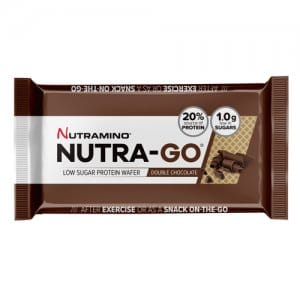 Nutramino – Nutra-Go Protein Wafer Box Chocolate (12 x 39g) **37% OFF, BEST BEFORE JULY/AUG 2019