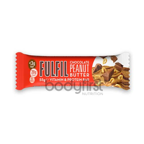 22cec592e Fulfil Nutrition – FULFIL Protein Bars with Vitamins Chocolate Peanut  Butter (55g). Home Shop Fulfil Nutrition – FULFIL Protein Bars with Vitamins  Chocolate ...