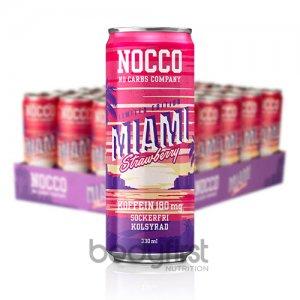 Nocco – Zero Carb BCAA Drink Miami Strawberry (330ml) **LIMITED EDITION