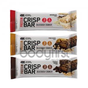 Optimum Nutrition – Protein Crisp Bar Mixed Box (10 x 56g)