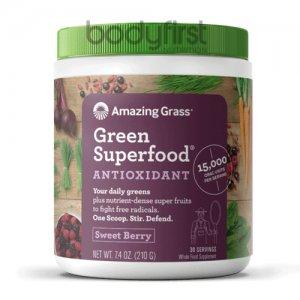 Amazing Grass – Green Superfood Antioxidant Sweet Berry (30 Servings)
